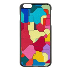 Colorful Leather Pieces       Apple Iphone 6 Plus/6s Plus Hardshell Case by LalyLauraFLM