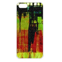 Grunge Texture       Apple Iphone 5 Seamless Case (white) by LalyLauraFLM