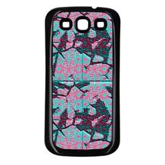 Cracked Tiles       Samsung Galaxy S3 Back Case (white) by LalyLauraFLM