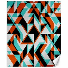 4 Colors Shapes          Canvas 16  X 20  by LalyLauraFLM