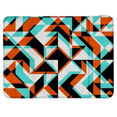 4 Colors Shapes    Htc One M7 Hardshell Case by LalyLauraFLM