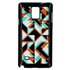 4 Colors Shapes    Samsung Galaxy Note 4 Case (white) by LalyLauraFLM