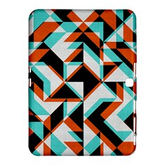 4 Colors Shapes    Samsung Galaxy Tab 4 (8 ) Hardshell Case by LalyLauraFLM