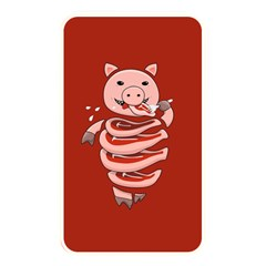Red Stupid Self Eating Gluttonous Pig Memory Card Reader by CreaturesStore