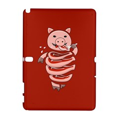 Red Stupid Self Eating Gluttonous Pig Galaxy Note 1 by CreaturesStore