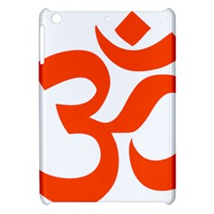 Hindu Om Symbol (orange) Apple Ipad Mini Hardshell Case by abbeyz71