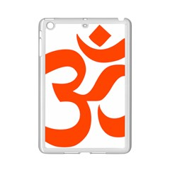 Hindu Om Symbol (orange) Ipad Mini 2 Enamel Coated Cases by abbeyz71