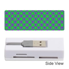 Friendly Retro Pattern A Memory Card Reader (stick)  by MoreColorsinLife