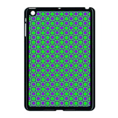 Friendly Retro Pattern A Apple Ipad Mini Case (black) by MoreColorsinLife
