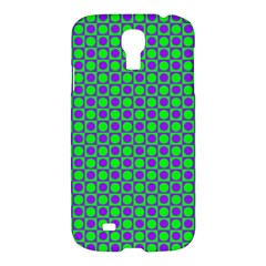 Friendly Retro Pattern A Samsung Galaxy S4 I9500/i9505 Hardshell Case by MoreColorsinLife