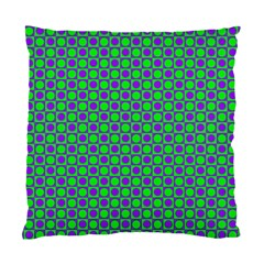 Friendly Retro Pattern A Standard Cushion Case (two Sides) by MoreColorsinLife