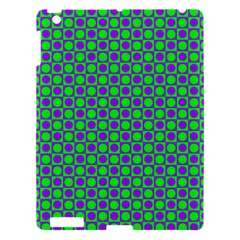 Friendly Retro Pattern A Apple Ipad 3/4 Hardshell Case by MoreColorsinLife