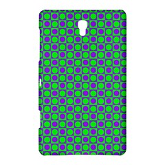 Friendly Retro Pattern A Samsung Galaxy Tab S (8 4 ) Hardshell Case  by MoreColorsinLife