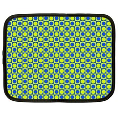 Friendly Retro Pattern C Netbook Case (xl)  by MoreColorsinLife