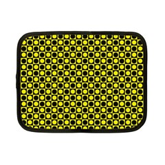 Friendly Retro Pattern I Netbook Case (small)