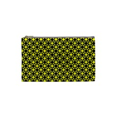 Friendly Retro Pattern I Cosmetic Bag (small)  by MoreColorsinLife