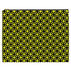 Friendly Retro Pattern I Cosmetic Bag (xxxl)  by MoreColorsinLife