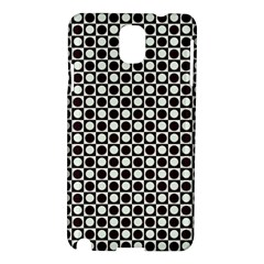 Friendly Retro Pattern H Samsung Galaxy Note 3 N9005 Hardshell Case by MoreColorsinLife