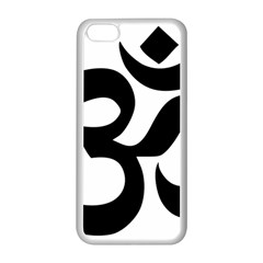 Hindu Om Symbol  Apple Iphone 5c Seamless Case (white) by abbeyz71