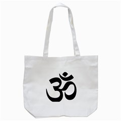 Hindu Om Symbol  Tote Bag (white) by abbeyz71