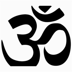 Hindu Om Symbol  Canvas 20  X 24   by abbeyz71