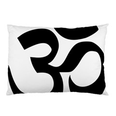 Hindu Om Symbol  Pillow Case (two Sides) by abbeyz71