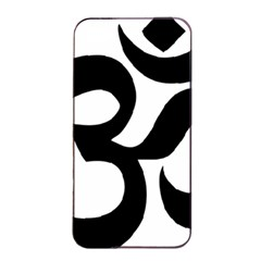 Hindu Om Symbol  Apple Iphone 4/4s Seamless Case (black) by abbeyz71