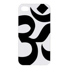 Hindu Om Symbol  Apple Iphone 4/4s Premium Hardshell Case by abbeyz71