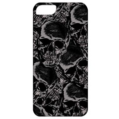 Skulls Pattern Apple Iphone 5 Classic Hardshell Case by ValentinaDesign