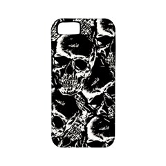 Skulls Pattern Apple Iphone 5 Classic Hardshell Case (pc+silicone) by ValentinaDesign
