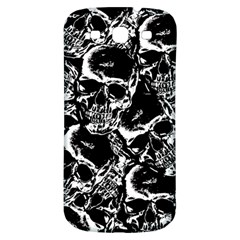 Skulls Pattern Samsung Galaxy S3 S Iii Classic Hardshell Back Case by ValentinaDesign