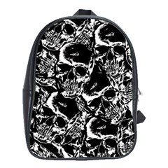 Skulls Pattern School Bags(large)  by ValentinaDesign