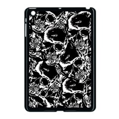 Skulls Pattern Apple Ipad Mini Case (black) by ValentinaDesign