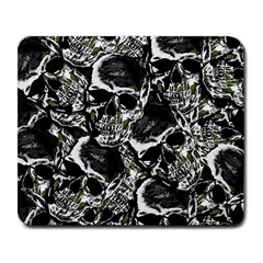 Skulls Pattern Large Mousepads by ValentinaDesign