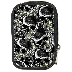 Skulls Pattern Compact Camera Cases by ValentinaDesign