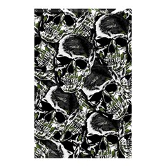 Skulls Pattern Shower Curtain 48  X 72  (small)  by ValentinaDesign