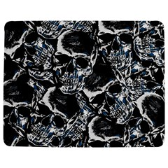 Skulls Pattern Jigsaw Puzzle Photo Stand (rectangular) by ValentinaDesign