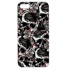Skulls Pattern Apple Iphone 5 Hardshell Case With Stand by ValentinaDesign