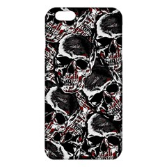 Skulls Pattern Iphone 6 Plus/6s Plus Tpu Case by ValentinaDesign