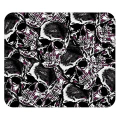 Skulls Pattern Double Sided Flano Blanket (small)  by ValentinaDesign