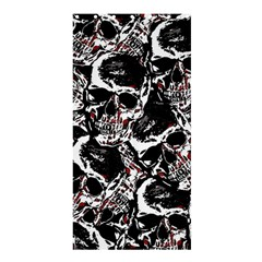 Skull Pattern Shower Curtain 36  X 72  (stall)  by ValentinaDesign