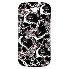 Skull Pattern Samsung Galaxy S3 S Iii Classic Hardshell Back Case by ValentinaDesign