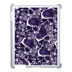 Skull Pattern Apple Ipad 3/4 Case (white) by ValentinaDesign