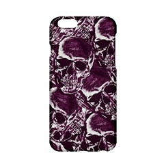 Skull Pattern Apple Iphone 6/6s Hardshell Case by ValentinaDesign