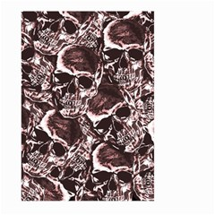Skull Pattern Large Garden Flag (two Sides) by ValentinaDesign