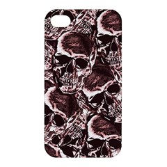 Skull Pattern Apple Iphone 4/4s Premium Hardshell Case by ValentinaDesign