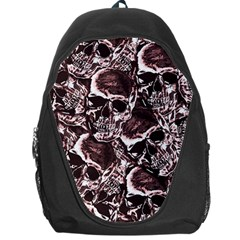 Skull Pattern Backpack Bag by ValentinaDesign