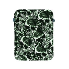 Skull Pattern Apple Ipad 2/3/4 Protective Soft Cases by ValentinaDesign