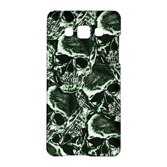 Skull Pattern Samsung Galaxy A5 Hardshell Case  by ValentinaDesign