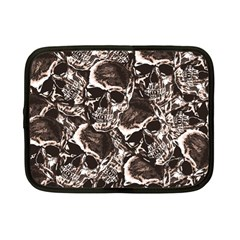 Skull Pattern Netbook Case (small)